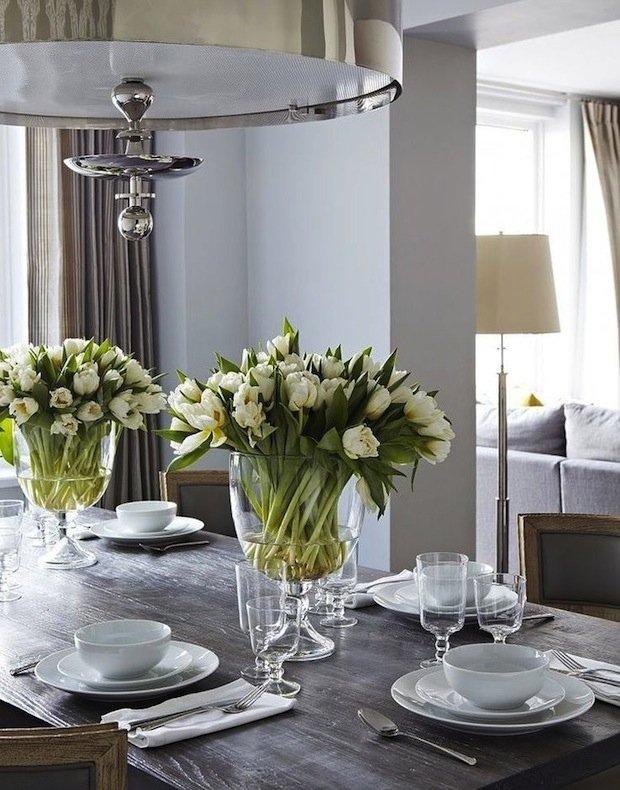 Фотография: Кухня и столовая в стиле Современный, Декор интерьера, Декор дома, Цветы – фото на INMYROOM