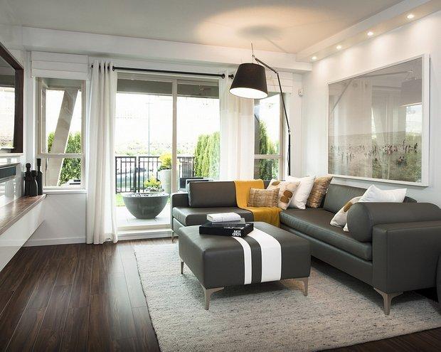 Фотография: Гостиная в стиле Современный, Декор интерьера, Декор дома, Пол – фото на INMYROOM