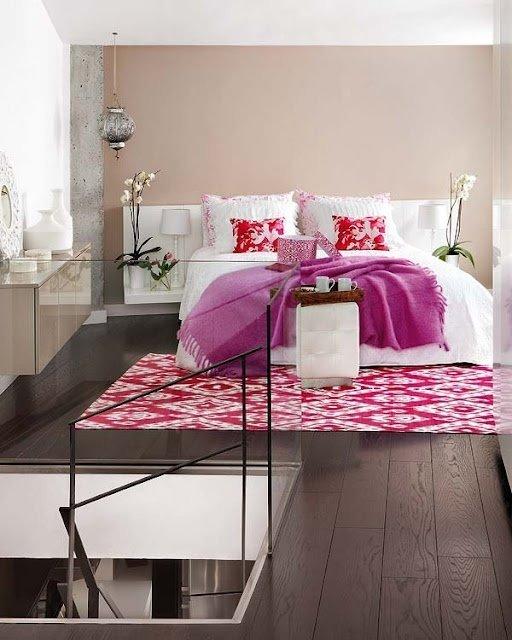 Фотография: Спальня в стиле Современный, Восточный, Декор интерьера, Дизайн интерьера, Цвет в интерьере – фото на INMYROOM
