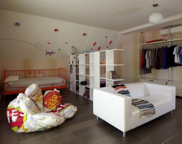 Фотография: Детская в стиле Современный, Эклектика, Дом, Дома и квартиры, Проект недели – фото на INMYROOM