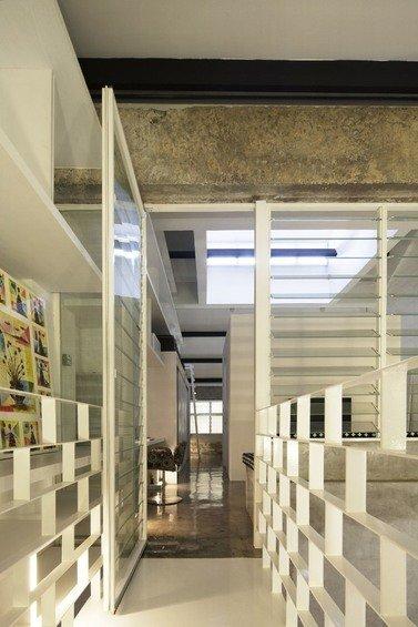 Фотография: Прочее в стиле Лофт, Современный, Квартира, Дома и квартиры, Лестница – фото на INMYROOM