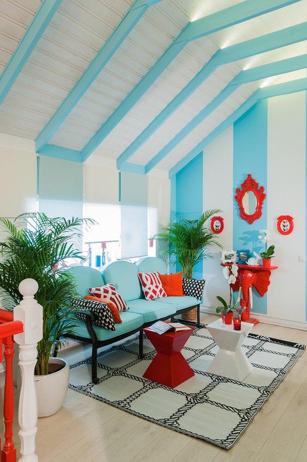 Фотография: Гостиная в стиле Восточный, Квартира, Дома и квартиры – фото на INMYROOM