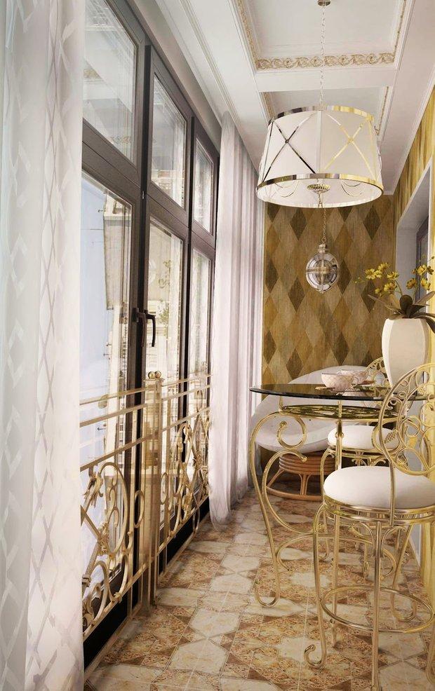 Фотография: Балкон, Терраса в стиле Прованс и Кантри, Классический, Современный, Эклектика, Интерьер комнат, Минимализм – фото на INMYROOM