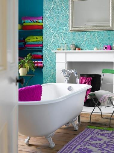 Фотография: Ванная в стиле Прованс и Кантри, Классический, Современный, Эклектика, Декор интерьера, DIY, Дом, Системы хранения – фото на INMYROOM