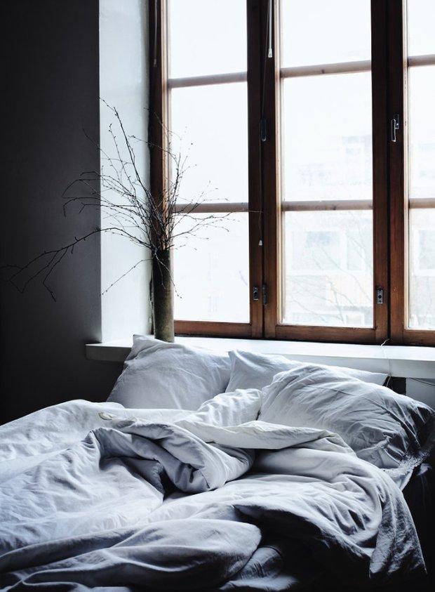 Фотография: Спальня в стиле Скандинавский, Декор интерьера, Текстиль – фото на INMYROOM