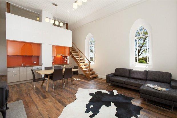 Фотография: Гостиная в стиле Современный, Дом, Австралия, Дома и квартиры – фото на INMYROOM