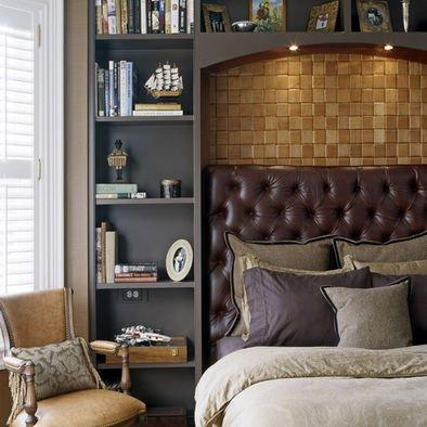 Фотография: Спальня в стиле Прованс и Кантри, Гардеробная, Декор интерьера, Интерьер комнат, Системы хранения, Кровать, Гардероб – фото на INMYROOM