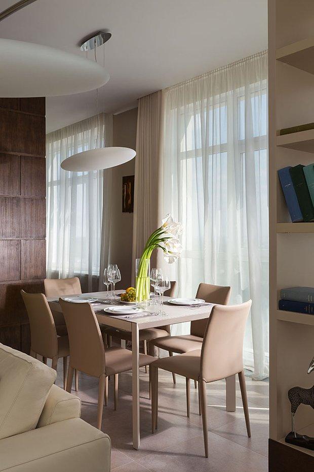 Фотография: Кухня и столовая в стиле Современный, Эко, Классический, Квартира, Проект недели – фото на INMYROOM