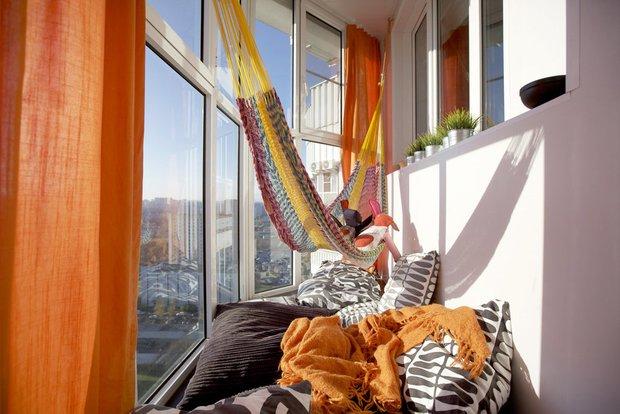 Фотография: Балкон в стиле Современный, Гид, Мегафон, Мегафон ТВ, чилаут, чилаут-зона – фото на INMYROOM