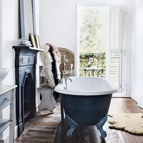Фотография: Ванная в стиле Скандинавский, Декор интерьера, Интерьер комнат, Викторианский – фото на INMYROOM