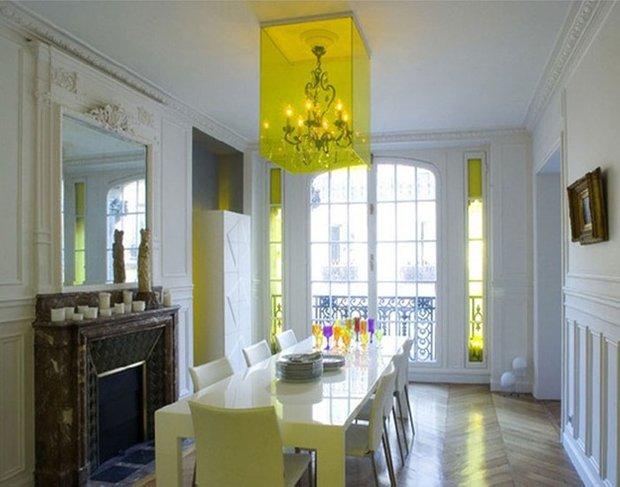 Фотография: Кухня и столовая в стиле Эклектика, Декор интерьера, Мебель и свет – фото на INMYROOM