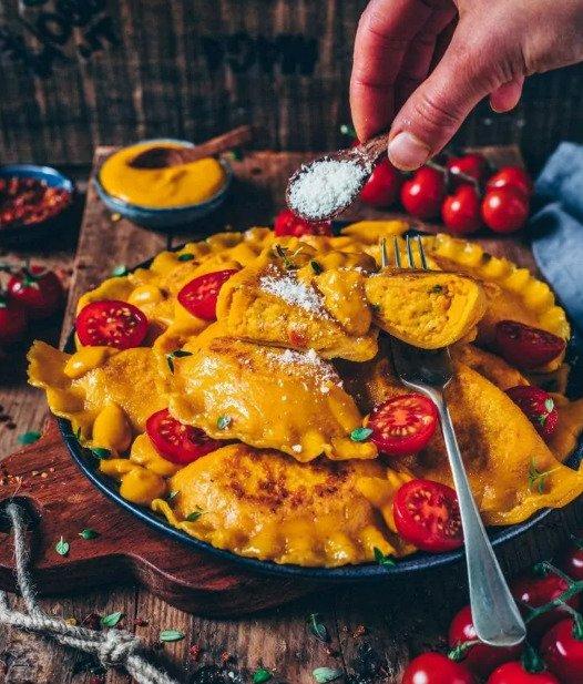 Фотография:  в стиле , Основное блюдо, Паста, Кулинарные рецепты, Варить, 1 час, Европейская кухня, Тыква, Просто – фото на INMYROOM