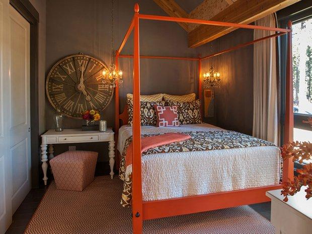 Фотография: Спальня в стиле , Эклектика, Дом, Дома и квартиры, Проект недели, Дача – фото на INMYROOM