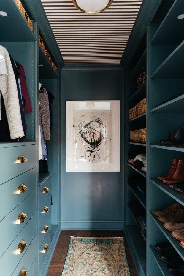 Фотография: Гардеробная в стиле Современный, DIY, ИКЕА, как сделать – фото на INMYROOM