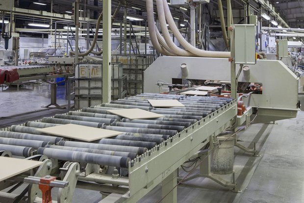 Производство БИКО 5–6, завод Kerama Marazzi в Орле.