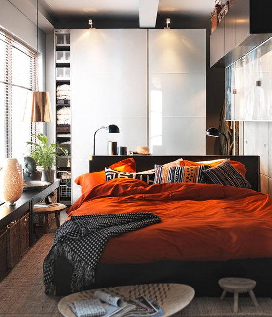 Фотография: Спальня в стиле Лофт, Восточный, Интерьер комнат, IKEA – фото на INMYROOM