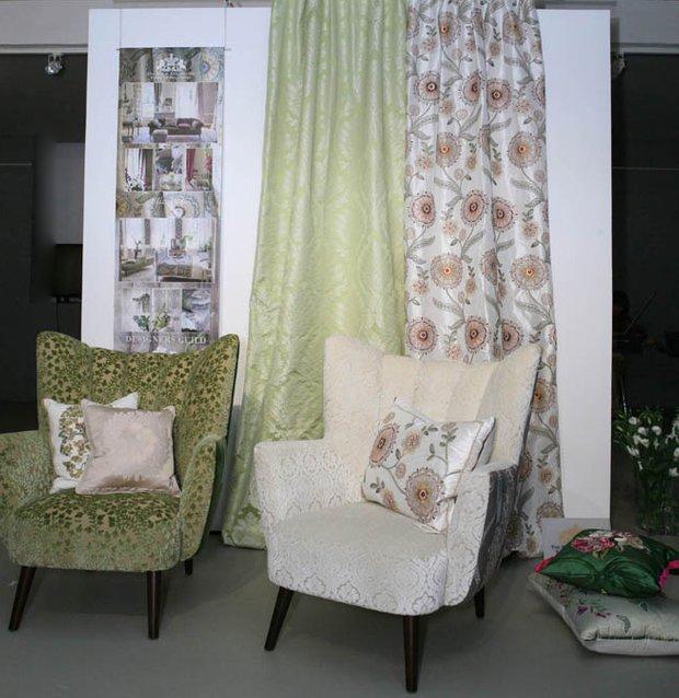 Фотография: Мебель и свет в стиле Современный, Декор интерьера, Текстиль, Обои, Ткани – фото на INMYROOM