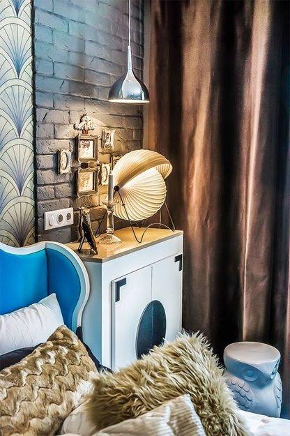 Фотография: Кабинет в стиле Современный, Спальня, Декор интерьера, Интерьер комнат, Ар-деко – фото на INMYROOM