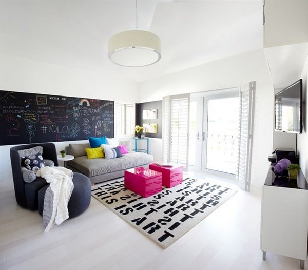 Фотография: Гостиная в стиле Скандинавский, Детская, Интерьер комнат, Декор – фото на INMYROOM