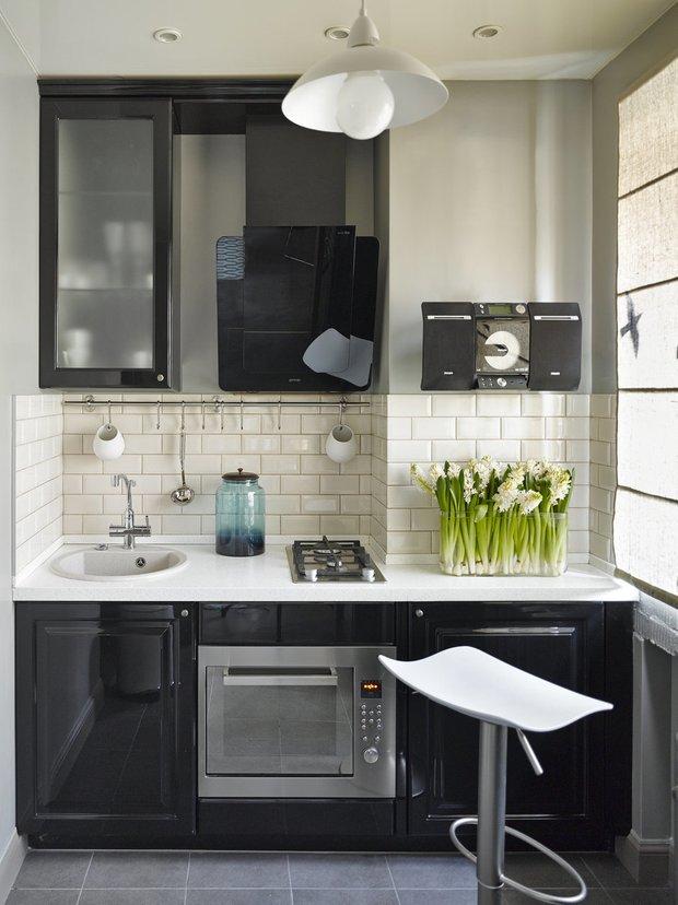 Фотография: Кухня и столовая в стиле Современный, Перепланировка, Finish – фото на INMYROOM