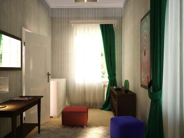 Фотография:  в стиле Современный, Спальня, Интерьер комнат, Elitis, IKEA – фото на INMYROOM