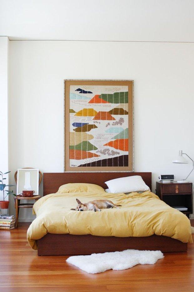 Фотография: Спальня в стиле Прованс и Кантри, Скандинавский, Квартира, Советы, Ремонт на практике, Хрущевка – фото на INMYROOM