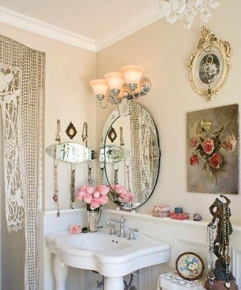 Фотография: Ванная в стиле , Декор интерьера, Дом, Стиль жизни, Советы, Шебби-шик – фото на INMYROOM