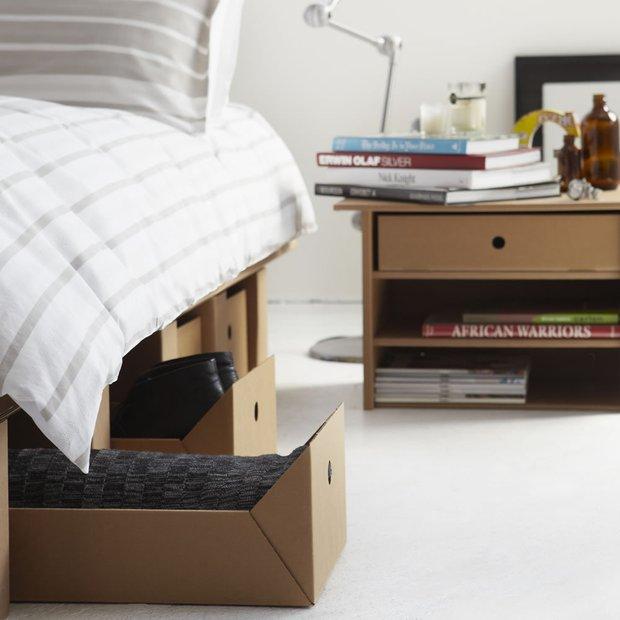 Фотография: Спальня в стиле Скандинавский, Хранение, Стиль жизни, Советы – фото на INMYROOM