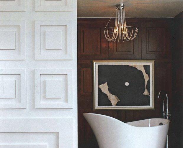 Фотография: Ванная в стиле Современный, Декор интерьера, Декор дома, Стеновые панели – фото на INMYROOM