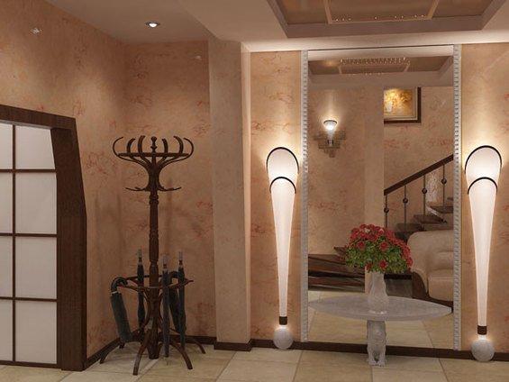 Фотография: Прихожая в стиле Классический, Современный, Декор интерьера, Мебель и свет, Светильник – фото на InMyRoom.ru