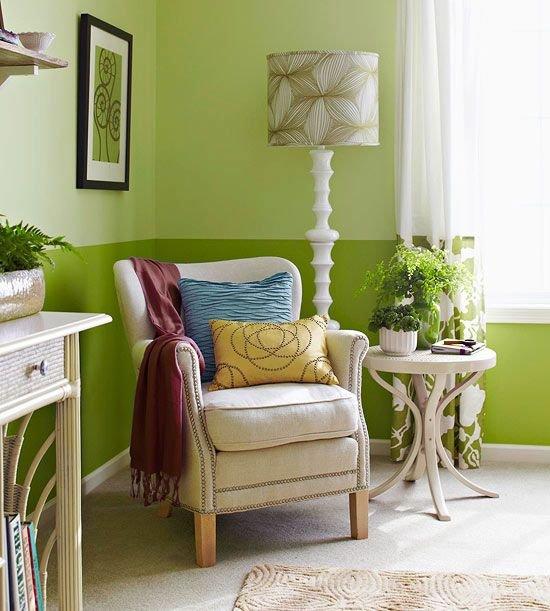 Фотография: Мебель и свет в стиле Прованс и Кантри, Скандинавский, Спальня, Интерьер комнат – фото на INMYROOM