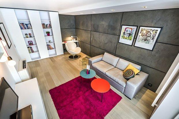Фотография: Гостиная в стиле Современный, Эклектика, Декор интерьера, Мебель и свет, Декор дома – фото на INMYROOM