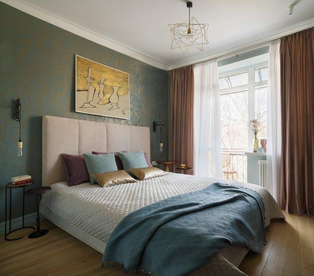 Фотография: Спальня в стиле Современный, Декор, Советы, текстиль в интерьере – фото на InMyRoom.ru