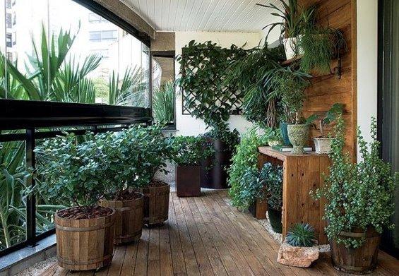 Фотография: Балкон в стиле Эко, Флористика, Стиль жизни – фото на INMYROOM