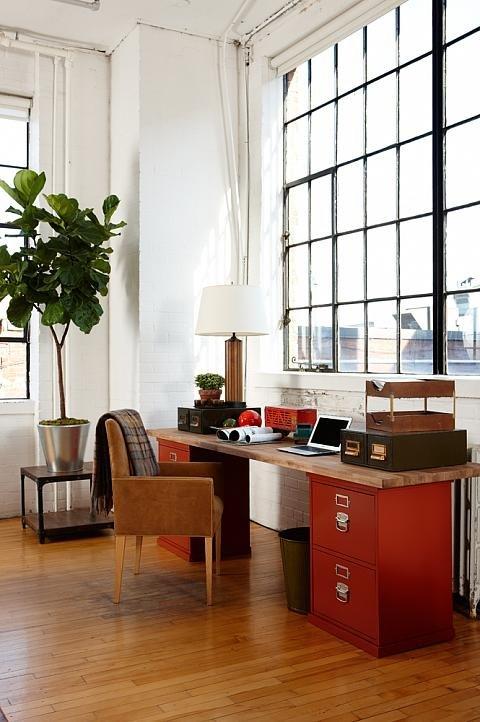 Фотография: Офис в стиле Прованс и Кантри, Лофт, Современный, Декор интерьера, Декор дома, Цвет в интерьере – фото на INMYROOM