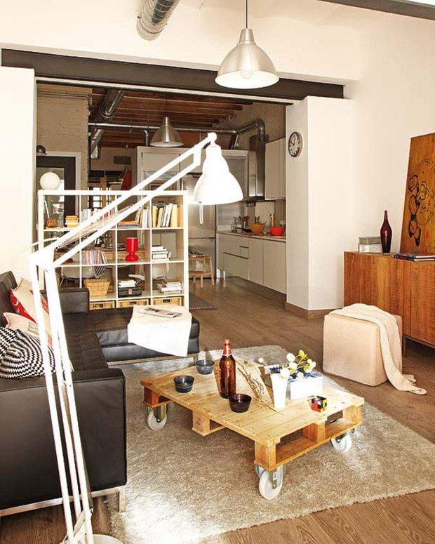 Фотография: Гостиная в стиле Лофт, Советы, уборка – фото на INMYROOM