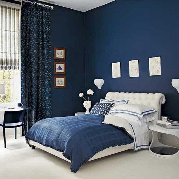 Фотография: Спальня в стиле Эклектика, Классический, Декор интерьера, Интерьер комнат, Цвет в интерьере, Белый, Черный, Серый – фото на INMYROOM