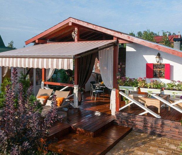 Фотография:  в стиле , Гид, как оформить студию, оригинальные идеи для интерьера, как построить беседку на даче, как навести порядок, строительство загородного дома – фото на InMyRoom.ru