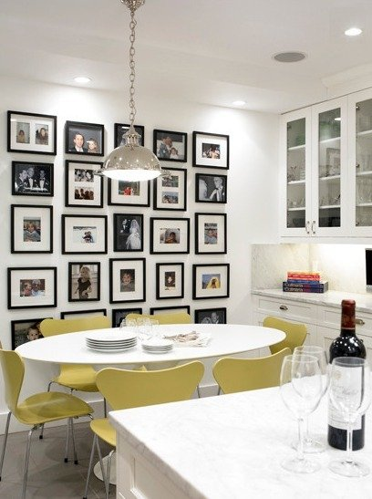 Фотография: Кухня и столовая в стиле Современный, Прованс и Кантри, Декор интерьера, Квартира, Стиль жизни, Советы, Стены – фото на InMyRoom.ru