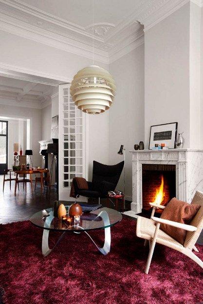 Фотография: Гостиная в стиле Эклектика, Дизайн интерьера – фото на INMYROOM