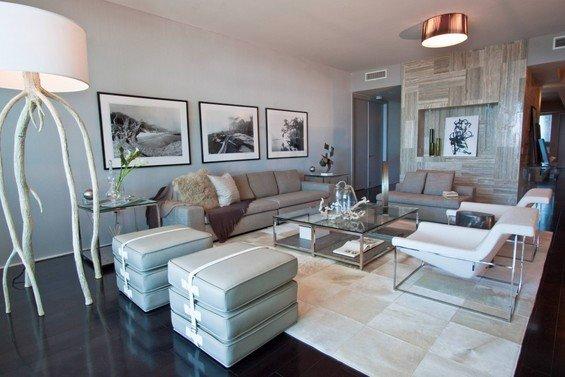 Фотография: Гостиная в стиле Современный, Эко, Декор интерьера, Мебель и свет, Светильник – фото на INMYROOM