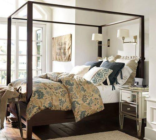 Фотография:  в стиле , Спальня, Малогабаритная квартира, Советы, Askona, «Аскона», дизайн-хаки для маленькой спальни, дизайн маленькой комнаты – фото на INMYROOM