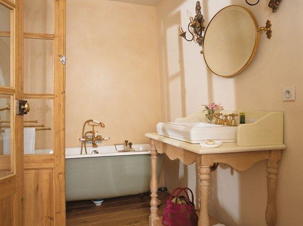 Фотография: Ванная в стиле Прованс и Кантри, Классический, Современный, Декор интерьера, Дом, Франция, Дома и квартиры, Прованс – фото на INMYROOM