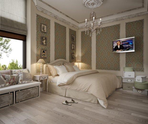 Фотография: Спальня в стиле Прованс и Кантри, Классический, Дом, Дома и квартиры, Прованс, Проект недели – фото на INMYROOM