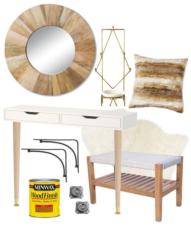 Фотография:  в стиле , DIY, ИКЕА, дизайн-хаки, переделка старой мебели фото, икеа-хак – фото на INMYROOM