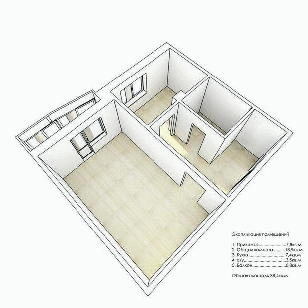Фотография:  в стиле , Архитектура, Планировки, Аксессуары, Декор, Мебель и свет, Гид – фото на InMyRoom.ru