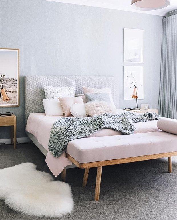 Фотография: Спальня в стиле Скандинавский, Малогабаритная квартира, Советы, Виктория Пашинская – фото на INMYROOM