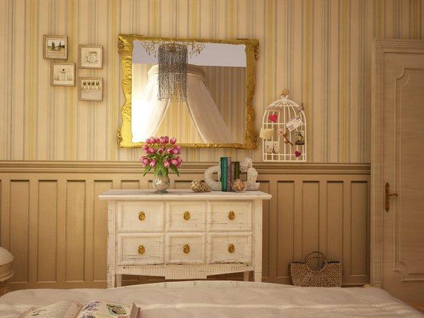 Фотография: Спальня в стиле Классический, Современный, Кухня и столовая, Дом, Дома и квартиры – фото на InMyRoom.ru