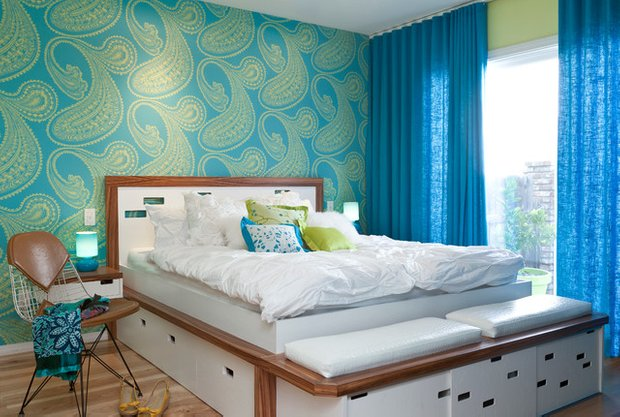 Фотография: Спальня в стиле Современный, Хранение, Стиль жизни, Советы – фото на INMYROOM