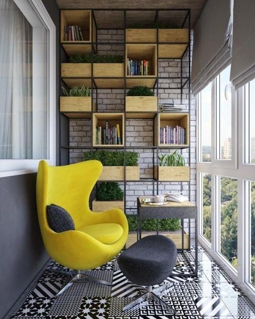 Фотография: Балкон в стиле Лофт, Декор интерьера – фото на INMYROOM